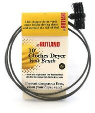 "Rutland Pellet Stove & Dryer Vent Brush w/10Ft Rod ---Choice of 3"" or 4"""