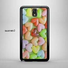Retro Vintage Cute Candy Jelly Bean Hearts Case for Samsung Galaxy Note 2/3/4