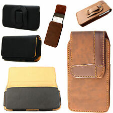 Stylish Leather Vertical/Horizontal Pouch Belt Clip Cover For Nokia