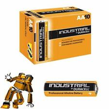 Duracell Industrial AA and AAA Alkaline Batteries 1 10 20 30 40 50 100 Exp 2021