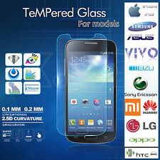 For Samsung  HTC Sony LG All iPhone6  Screen Protector Tempered  Glass Film