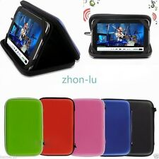 """New Pu Leather Flip Case Cover Skin w/ Speaker For 7"""" RCA 7"""" Android Tablet TY5"""