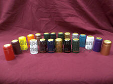 PVC Heat Shrink Capsules For Wine Bottles, 30 Per Sale, YOUR CHOICE IN COLOR!!!