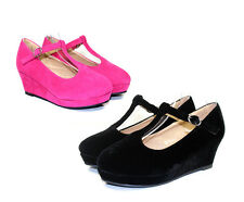 Erika-85k New Wedding Church Party Toddler / Youth Girl's 2 inch Low Heel Shoes