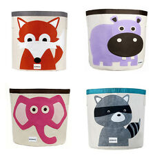 New Cute Animal Cartoon Foldable Storage Bins Toy Container Organiser Bag VT0007