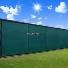 """50"""" Fence Windscreen w/ Grommets Privacy Screen Mesh Fabric Cover Shade EHE8"""