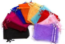"100 - 4 x 5"" Organza Wedding Jewelry Bags Party Bags Candy Bags Gift Bags"