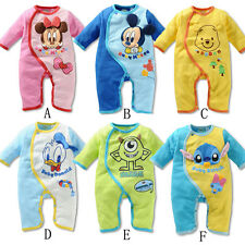 Disney Baby Boys Girls Animal Costume Bodysuit Outfit Romper Clothes Set 0-18M
