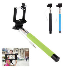 Extendable Handheld Selfie Stick Monopod Mount Holder For iPhone Samsung Camera
