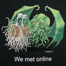 New T-Shirt Flying Spaghetti Monster & Cthulhu Lovecraft OffWorld Designs