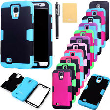 Heavy Duty Silicone Hybrid Protector TUFF Hard Case for Samsung Galaxy S4 i9500