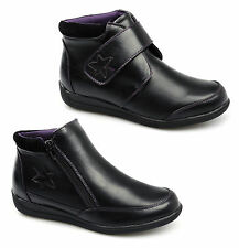 Womens Wide Fit, Dr Keller Ankle Boot, Removable Insole. EE/EEE Dual Width.