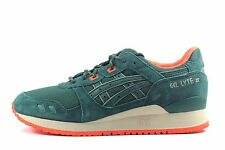 Asics Men's Gel-Lyte III Shoes NEW Authentic Dark Green H427L-8080