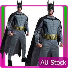 Deluxe Adult Licensed Batman Muscle Chest Dark Knight Rises Costume Outfit