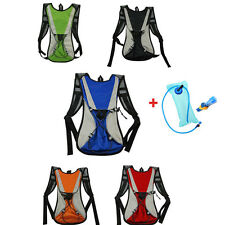 Cycling Bike Bicycle Hydration Pack Backpack Bag Hiking Running Water Compatible