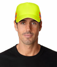 Adams Trucker Reflector High Visibility 100% Polyester Constructed Cap. TR102