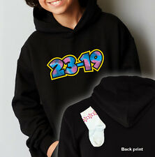23-19 MONSTERS KIDS HOODIE ALL SIZES. (CDA, C.D.A. 2319, SULLY, NOT INC A DVD)