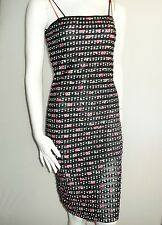 Bettie Page Pinup dress  XL 16 repro look cherries Rockabilly retro ruffle new