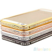 Hot Luxury Crystal Rhinestone Bling Case Cover Skin Bumper For Apple Iphone 5 5S