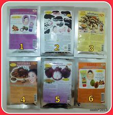 6 FORMULA OF FACE MASK,PEEL OFF FOR SCRUB & DETOX FACE FOR ALL SKIN TYPE 20 G.