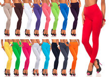 Womens Thick Warm Full Length Cotton Leggings Pants AU Size 6-26 & All Colours