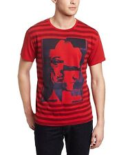 Calvin Klein Two Face Graphic red striped T-Shirt men's size 2XL NEW