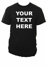 Your Text Personalised Mens T-Shirt Small - XXL Various Colours Tshirt & Text