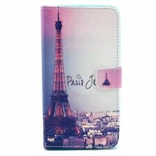Eiffel Tower Flip Card Wallet Leather Case Cover FOR Samsung HTC MOTO LG Phones