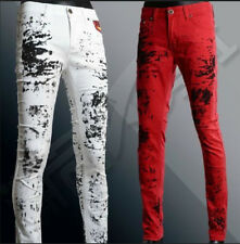New Denim Mens Fashion Designed Casual Slim Fit Skinny Jeans Long Pants Trousers