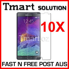 Tempered Glass & Clear & Matte Anti Glare Screen Protector Samsung Galaxy Note 4