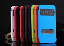 Luxury Protective Flip View Smart Case Cover For Samsung Galaxy Mega 5.8 I9152