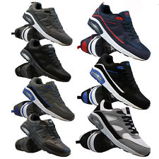 MENS RUNNING TRAINERS FASHION CASUAL LACE GYM WALKING SPORTS SHOES BOYS SIZE NEW
