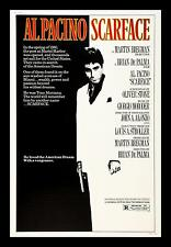 Al Pacino Scarface 1983 Movie Poster Art Canvas Print Iconic Star Gangster Film