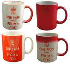 Keep Calm i'm one fart away from a Poo Mug Fun Funny Mug
