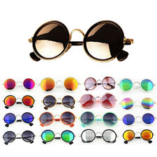 Fashion Round Classic Vintage Retro Style Classical Metal Frames Sunglasses NEW