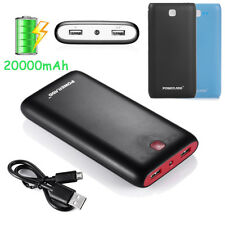 Poweradd Pilot X7 20000mAh Dual USB External Battery Power Bank For iPhone 6 5S