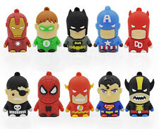 Wholesale Cartoon Avengers Model USB 2.0 Flash Pen Drive Memory Stick 4GB-8GB