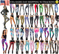 Galaxy Adventure Time Batman Rock Star Girls Womens Sexy Leggings USA SALE!!