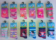 Peppa Pig Childrens Socks - Official Merchandise - Best Prices - FREE P&P