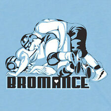 BROMANCE football gay funny unicorn mma high school wrestling boxing T-SHIRT