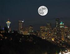 SUPER MOON GLOSSY POSTER PICTURE PHOTO supermoon educational big sky full 2059