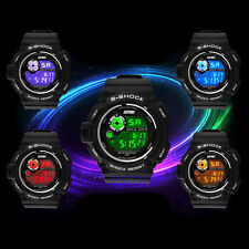 Men Women Waterproof Military Multifunctional Casual Sports LED Digital Watch