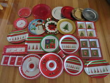 Christmas Melamine plates/trays/cups/platters