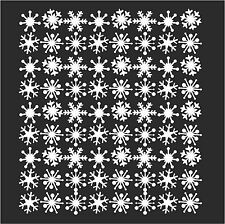 39 Snowflakes Christmas Decoration Window Wall Removable Vinyl Stickers