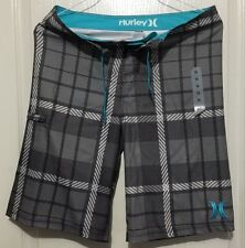 NEW Hurley swimsuit boys youth board shorts swim trunks- Size 5 16- COOL