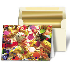 Holiday Christmas Greeting Card Gifts Ornaments Lenticular 3D #GC-983#