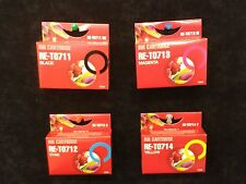 T711 black T712 cyan T713 magenta T714 yellow Non OEM ink for epson printers