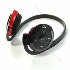 New Wireless MP3 Player Headphone Headset Earphone FM Radio Support TF Card