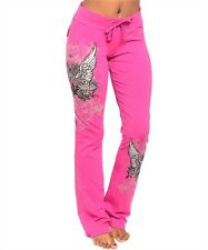 Sexy Hot Pink Guns Wings Stones Pants Hoodie Tattoo Shirt Track Suit  S M L XL
