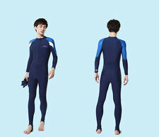 Men's Full Scuba Lycra Skin diving Suit Full Swimsuit Jumps Suits Rash Guards